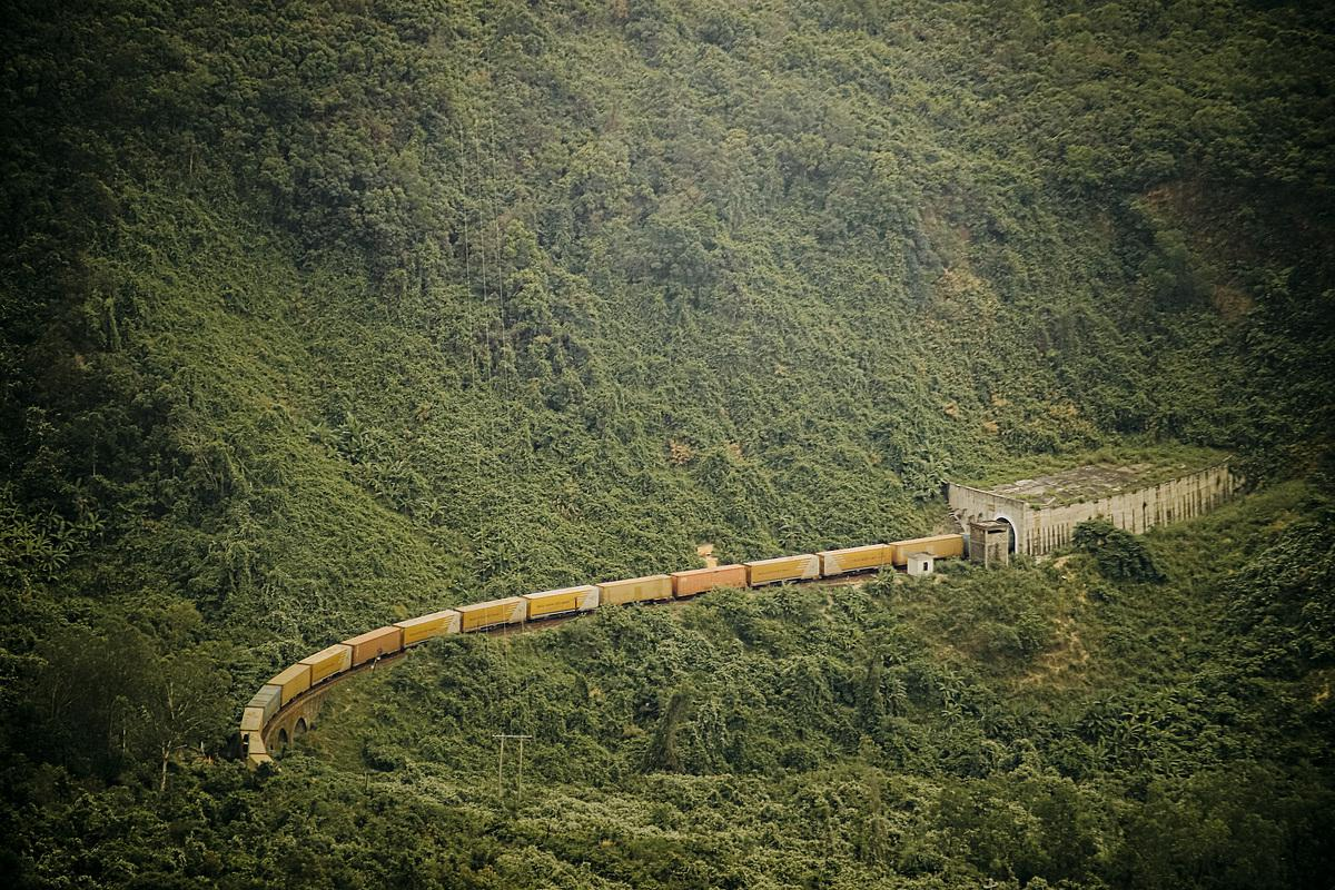 Central Vietnam mountain pass a beautiful drive