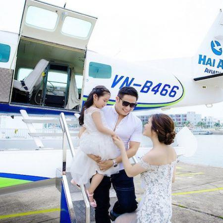 Charter Seaplane From Ho Chi Minh to Ho Tram