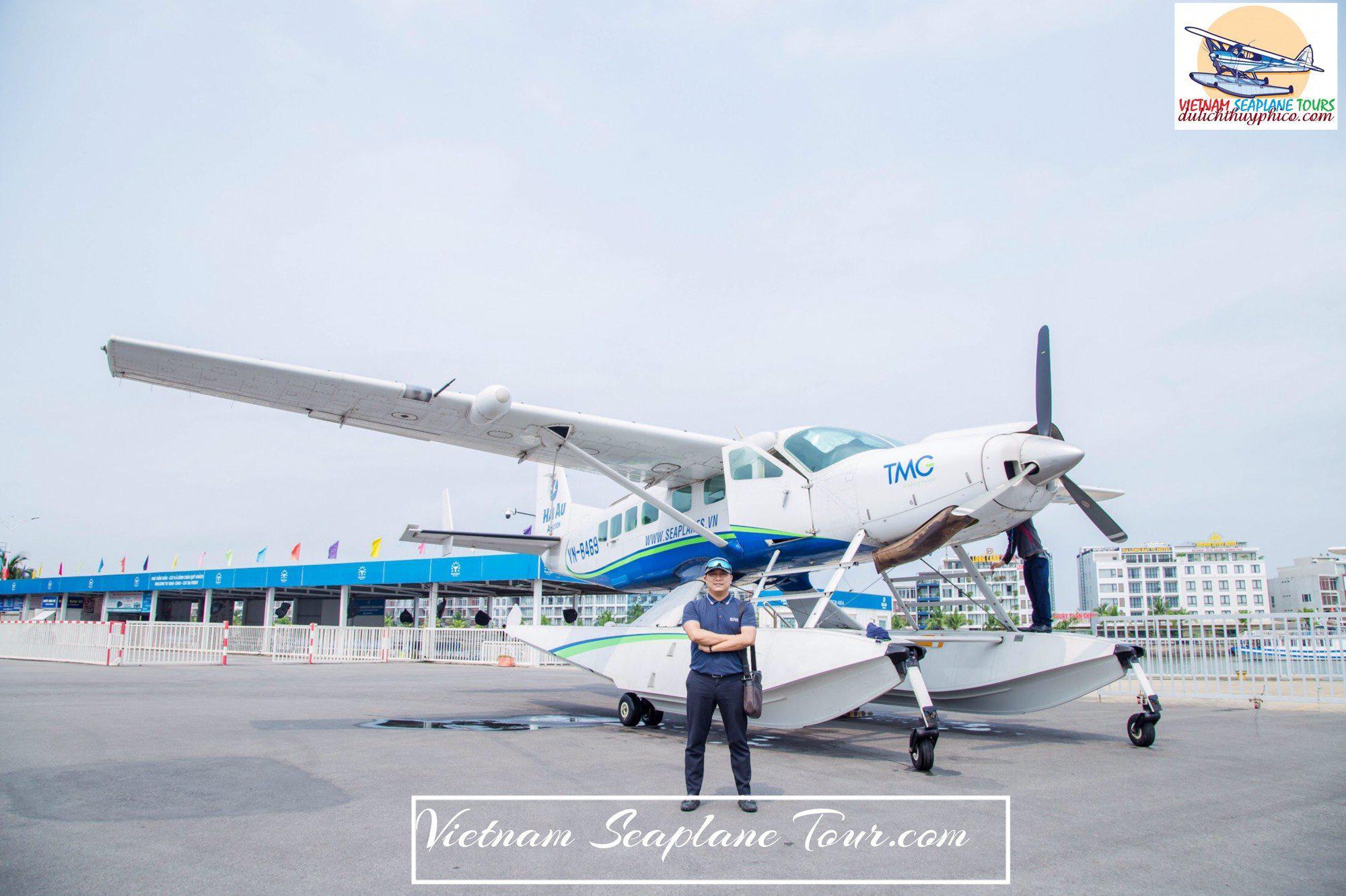 Seaplane From Saigon to Can Tho
