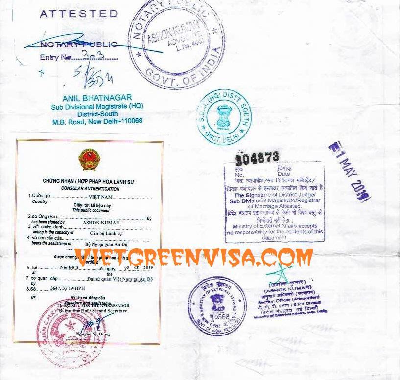5 years Visa Exemption for Viet Nam