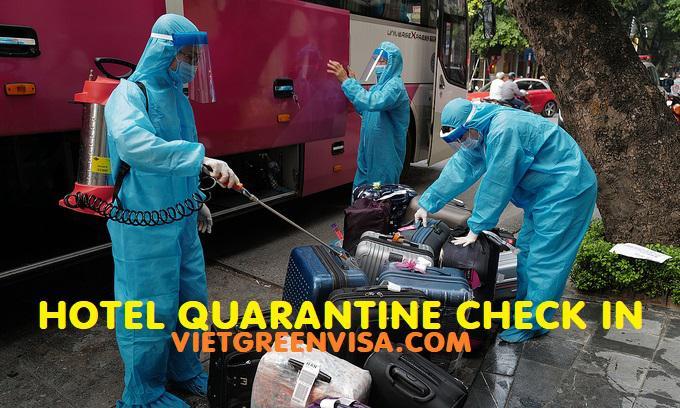 Vietnam entry and quarantine procedure in COVID 19