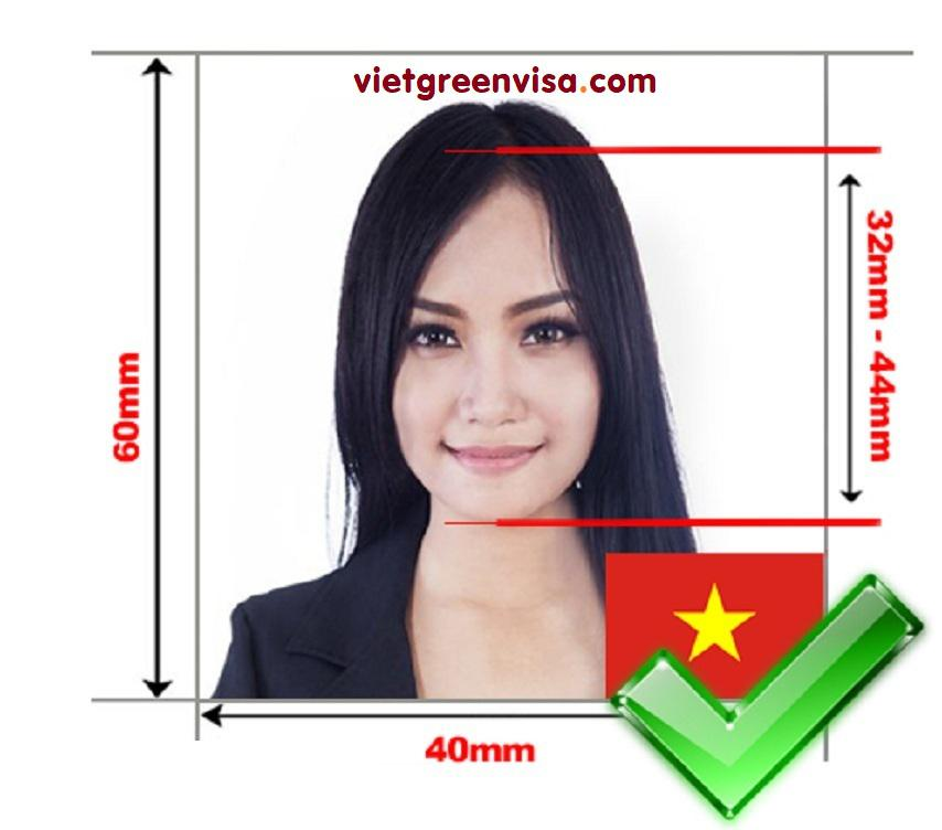 Vietnam Visa Photo Requirements & Size