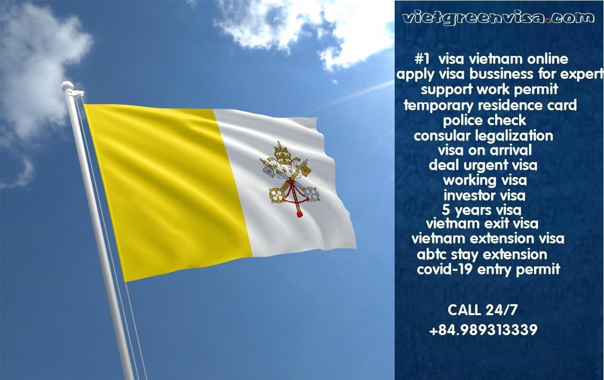 Vietnam Visa for Vatican Citizens