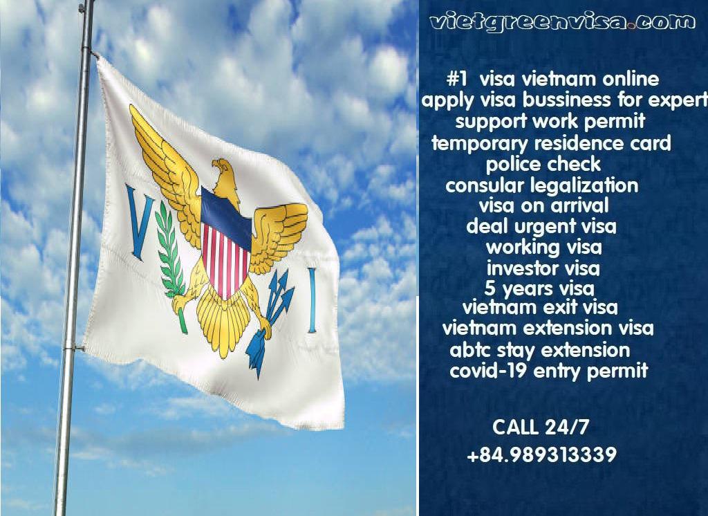 Vietnam Visa for Virgin Islands, US Citizens