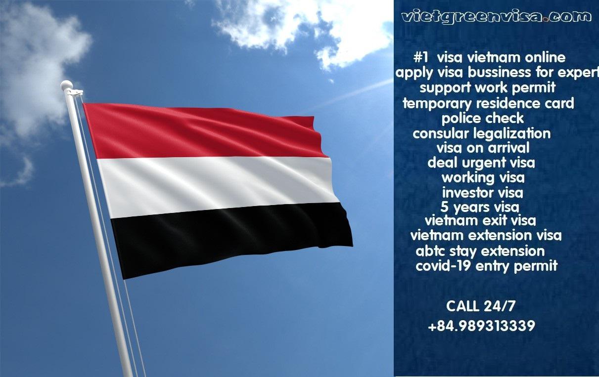 Vietnam Visa for Yemen Citizens