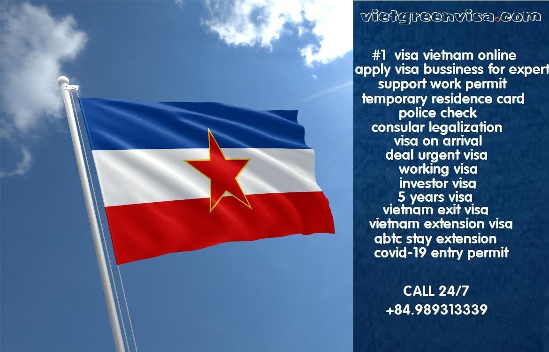 Vietnam Visa for Yugoslavia Citizens