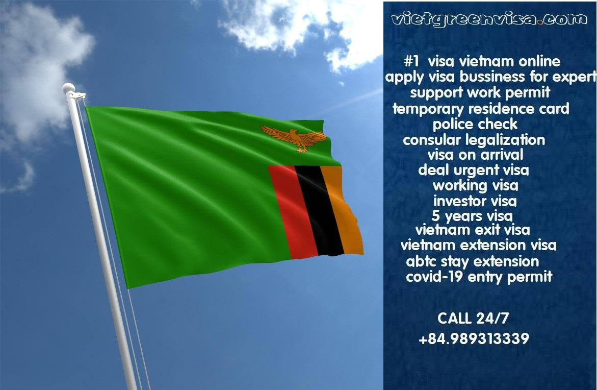 Vietnam Visa for Zambian Citizens