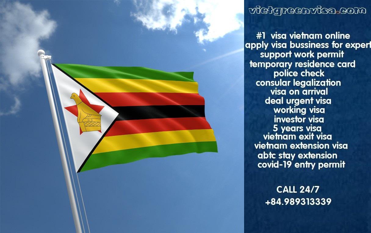 Vietnam Visa for Zimbabwe Citizens