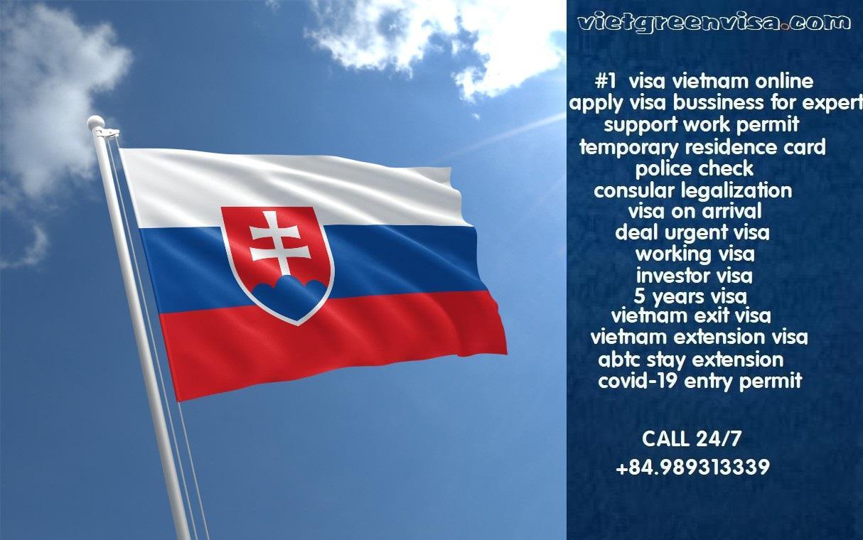 How to get Vietnam visa in Slovakia