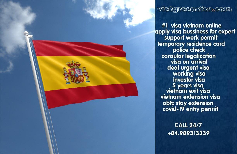 How to get Vietnam visa in Spain