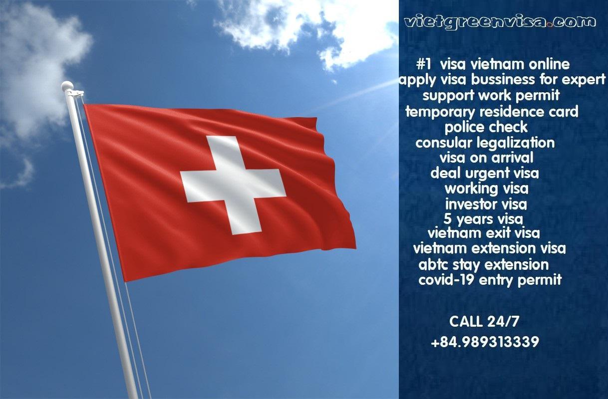 How to get Vietnam visa in Switzerland
