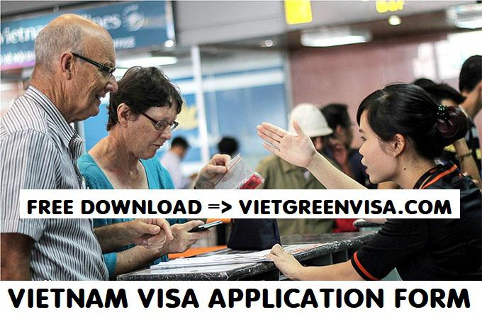 Where can I download a Vietnam Visa Application Form?