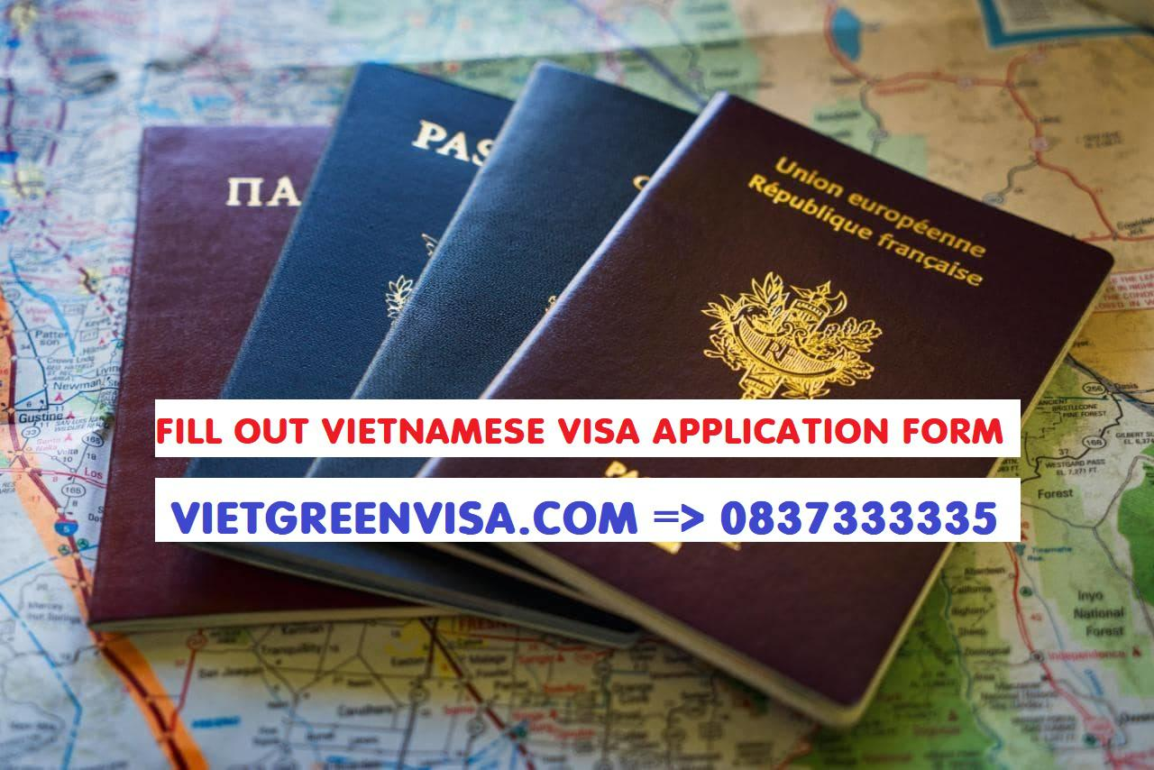 How to Fill Out Vietnamese Visa Application Form